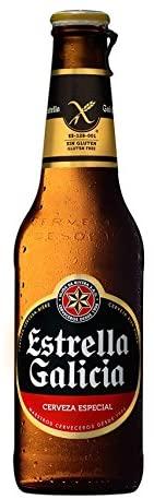 Cerveza Estrella Galicia Sin Gluten - 24 Unidades de 33Cl (Especial Celíacos)