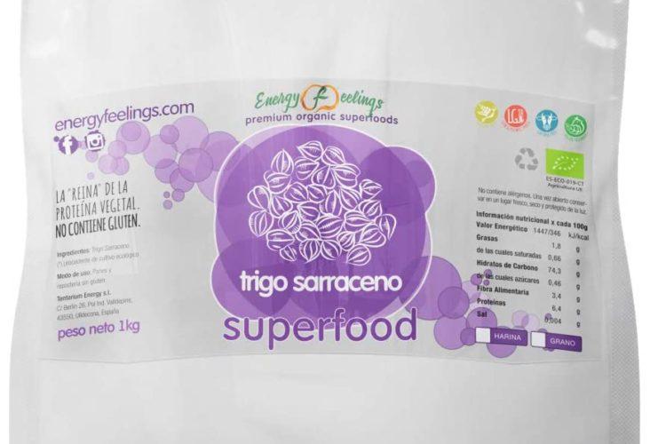 Energy Feelings - Harina de Trigo Sarraceno Eco - 1 Kg