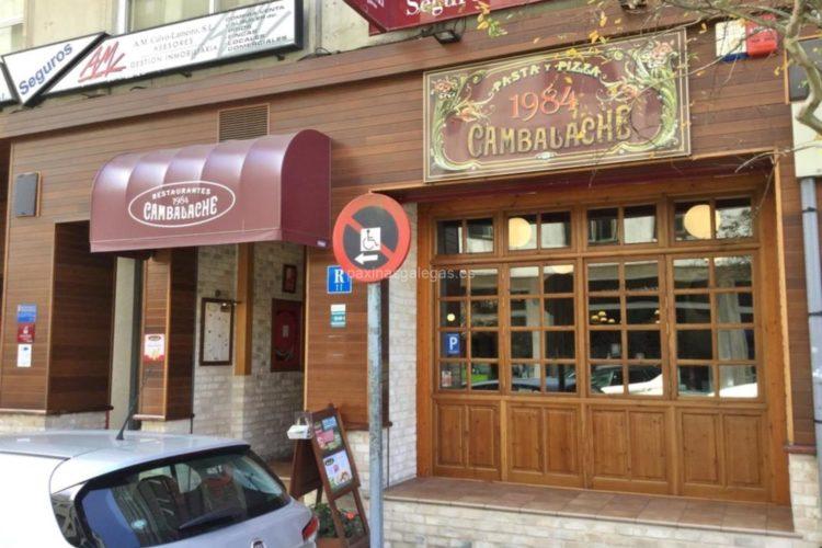 Pizzería Cambalache (Rúa García Barbón, 25 - Vigo)